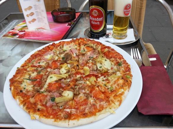 Pizza och Kölsch!